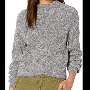NWT Free People Sweater Grey Combo Small